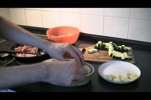 Hackfleisch-Zucchini-Auflauf - ein Rezept