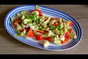 Salate zum Fondue - Rezeptvorschläge