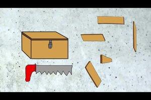 Eine Kiste bauen - mit Holz einfach durchzuführen