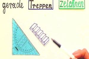 Treppen zeichnen - so gelingt es Ihnen