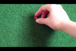 Knete entfernen - so klappt's beim Teppich