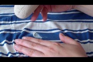 Textmarker aus kleidung entfernen