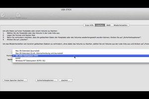 USB-Stick defekt - so reparieren Sie das Gerät am Mac