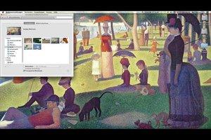 Wie macht man bei Apple Mac ein Hintergrundbild?