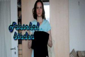 Fanschal binden - Anleitung