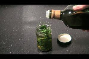 Basilikumöl selber machen - so geht´s