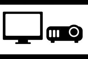 Beamer an Fernseher anschließen - so wird's gemacht