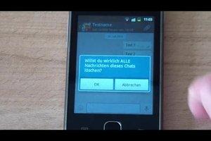 WhatsApp: Nachrichten löschen - so geht's