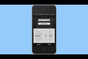 Beim iPhone das Foto-Datum ändern - so geht's