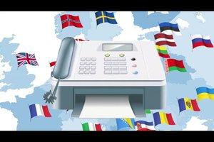 Fax ins Ausland senden - so geht's