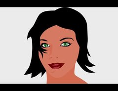 Haarfarbe grüne augen Wie du