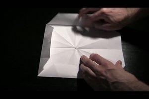 Windlicht aus Papier basteln