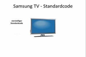Samsung TV Pin - so finden Sie den Standardcode