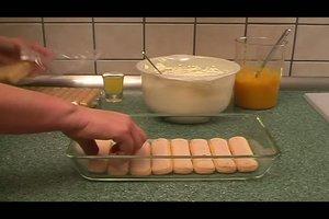 Mango zubereiten - Rezept für Mango-Tiramisu