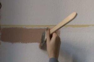 Wand streichen mit Streifen - so klappt´s
