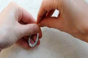 Anleitung - Perlenring selber machen