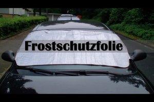 Frostschutzfolie für Auto richtig verwenden - so geht's