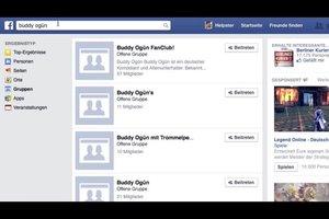 Facebook: Gruppen finden - so geht's