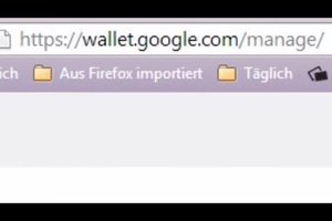Kreditkarte bei Google Play löschen - Anleitung