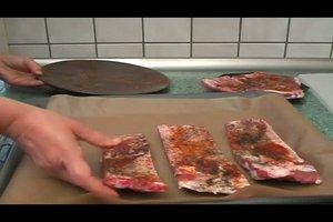 Rippchen - Rezept für die Zubereitung im Backofen