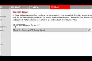 Vodafone Easybox 803 - so installieren Sie einen Drucker an dem Gerät