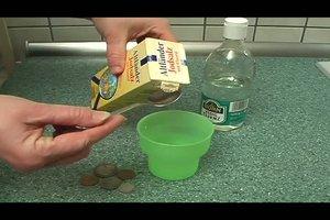 Geld reinigen  - so machen Sie es richtig