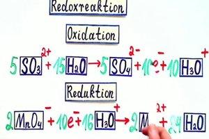 Redoxreaktionen - Übungen zu den Gleichungen