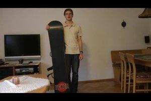 Die Snowboardlänge richtig wählen – so geht's