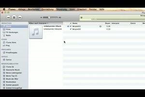 Bilder in iTunes importieren - so geht´s
