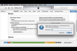 iTunes-Backup-Passwort vergessen - was tun?