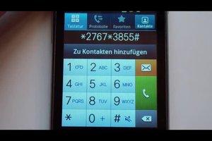 Beim Samsung S5230 einen Reset durchführen - so geht die Tastenkombination