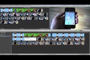Videoschnittprogramm am Mac - mit vorinstallierten Anwendungen arbeiten