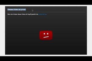 YouTube: dieses Video ist privat - Bedeutung und Anleitung, wie Sie Ihre privat halten können