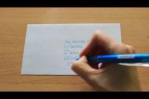 Spanische Adressen schreiben - so geht's richtig