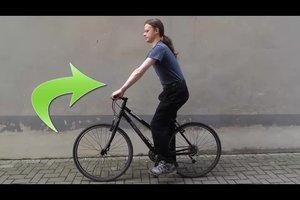 Durch das Fahrradfahren Bauchmuskeln stärken - so geht's