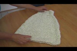 Pucksack - einen Strampelsack für Neugeborene selber stricken