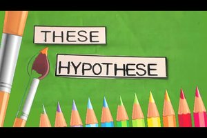Den Unterschied zwischen These und Hypothese verständlich erklären