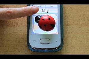 Waage-App nutzen - so geht's