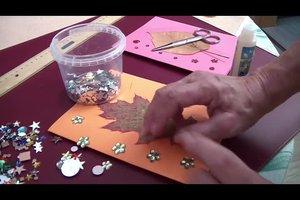 Basteln mit Tonpapier - Ideen für den Herbst