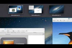 2 Schreibtische am Mac - so geht's
