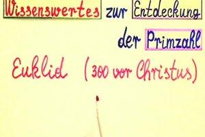Was ist eine Primzahl? - Eine anschauliche Erklärung