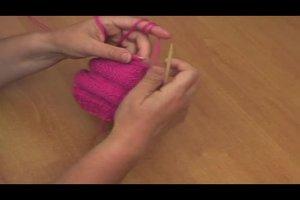 Ballonmütze stricken - Anleitung