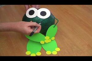 Eine Frosch-Laterne herstellen - so wird es kreativ