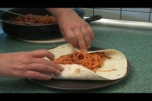 Spaghetti-Tacos - ein Rezept