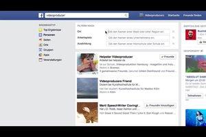Facebook: Erweiterte Suche nutzen - so funktioniert's