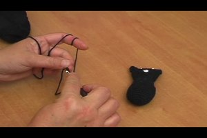Ein schwarzes Kätzchen häkeln - eine Anleitung