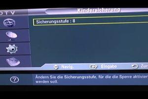 Fernseher mit Kindersicherung - so aktivieren Sie sie