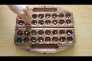 Hus - Spielanleitung für dieses Steinchenspiel