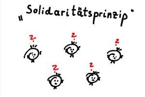 Solidaritätsprinzip - eine Definition