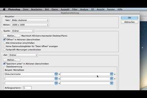 Stapelverarbeitung mit Photoshop CS5 - so geht es
